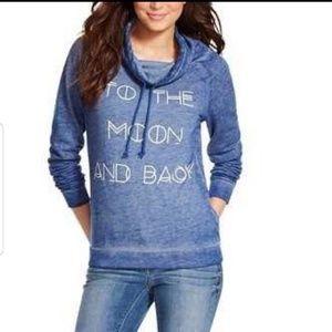 Fifth Sun To The Moom and back Sweatshirt Sz XL